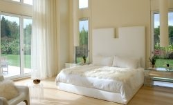 Белая спальня. Идеи оформления.