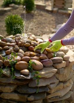 Декоративный фонтан своими руками