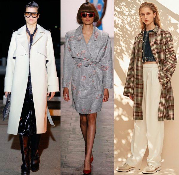 Демисезонное женское пальто – весна 2017