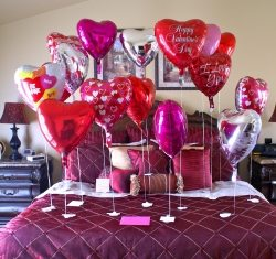 Идеи декора для дома к 14 февраля