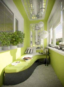 Идеи оформления балконов