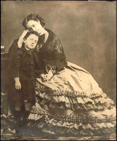 Истрия моды XIX века - костюм в стиле второе рококо