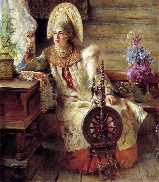Костюм и мода Московской Руси