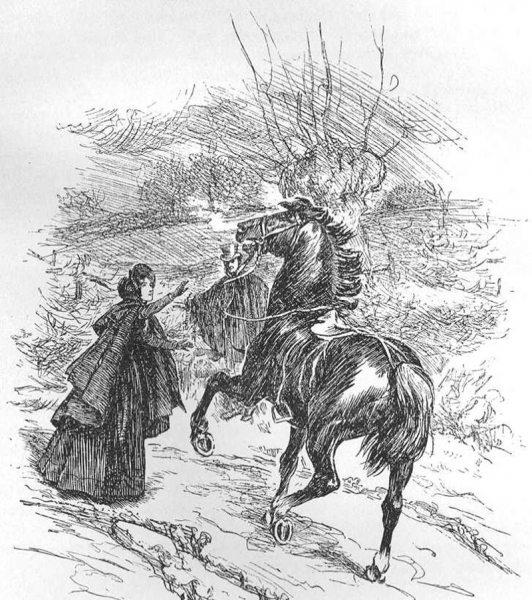 Мода и костюм в XIX веке периода романтизма