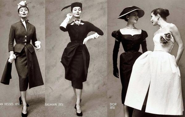 Мода и стиль 1950 годов