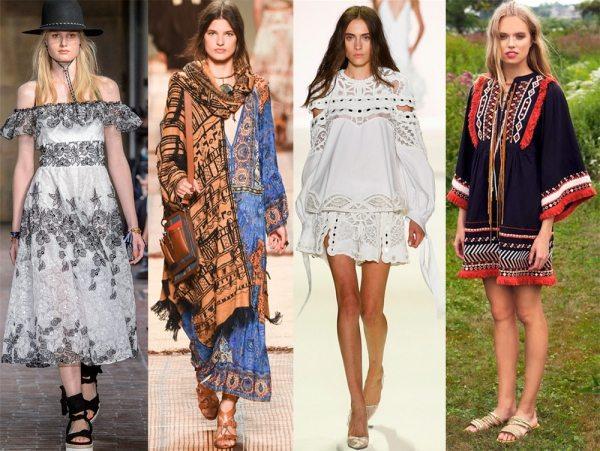 Модные тенденции весна-лето 2017 года