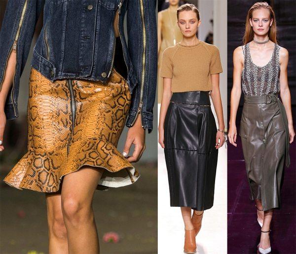 Модные юбки весна-лето 2017 – все модные тенденции