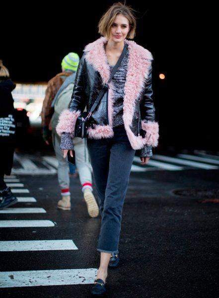 Модные женские дубленки 2017-2018