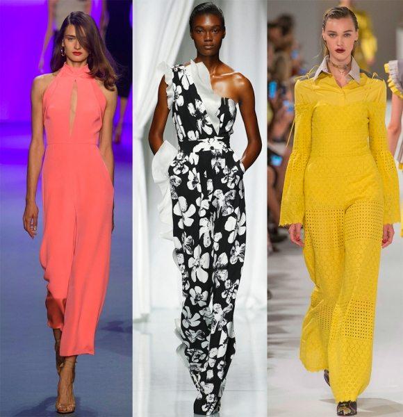 Модные женские комбинезоны 2017 года