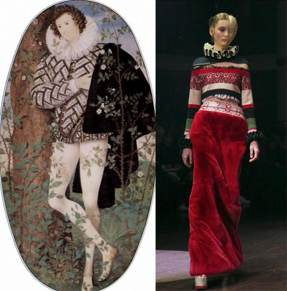 Обзор исторических образов из коллекций одежды сезона A/W 2017