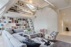 Оформление двухуровневой квартиры.