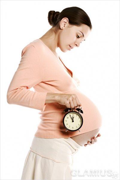 Опущение живота перед родами