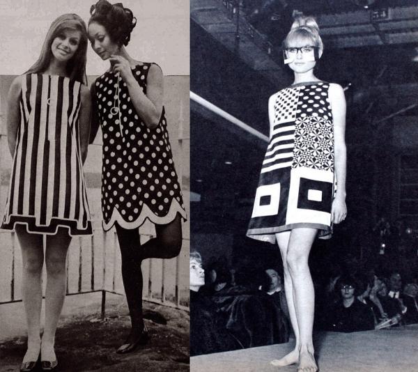 Платье трапеция – история и фото разных фасонов