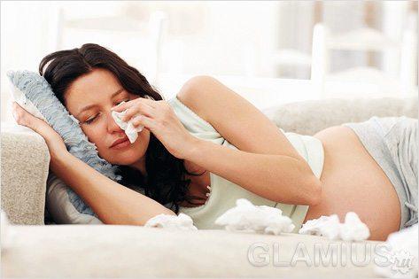 Раздражительность во время беременности