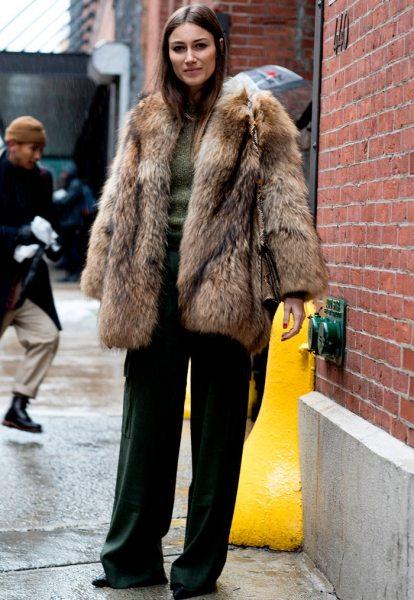 Самые модные шубы и меховые жакеты 2017