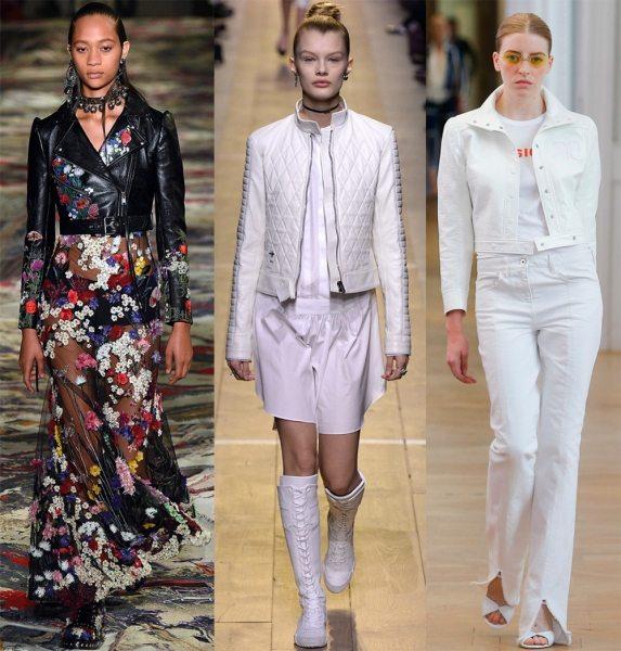 Весенние женские куртки из коллекций весна-лето 2017