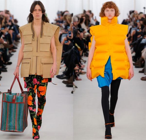 Женские куртки без рукавов из коллекций 2017 года
