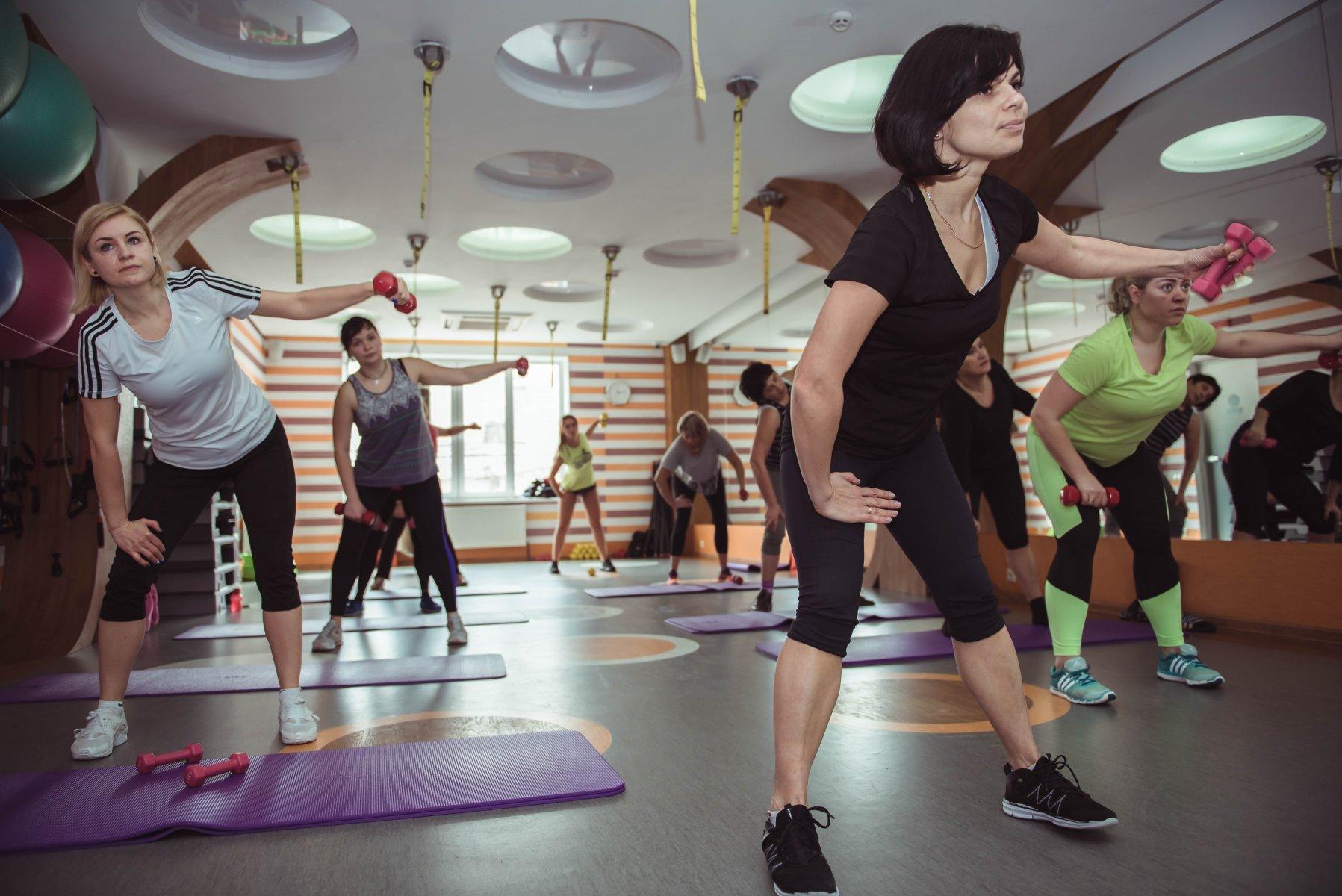 фитнес-клуб Железяка и Бантики