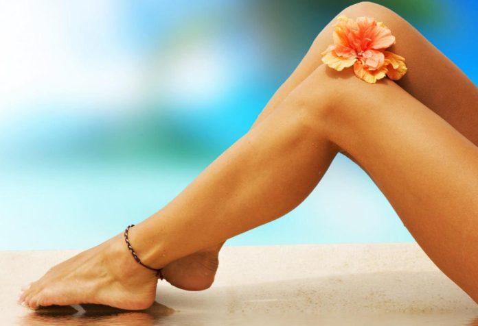 Здоровые и сексуальные ноги летом