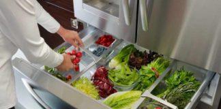 Хранение зелени в холодильнике