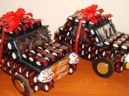 Сладкие подарки для малышей