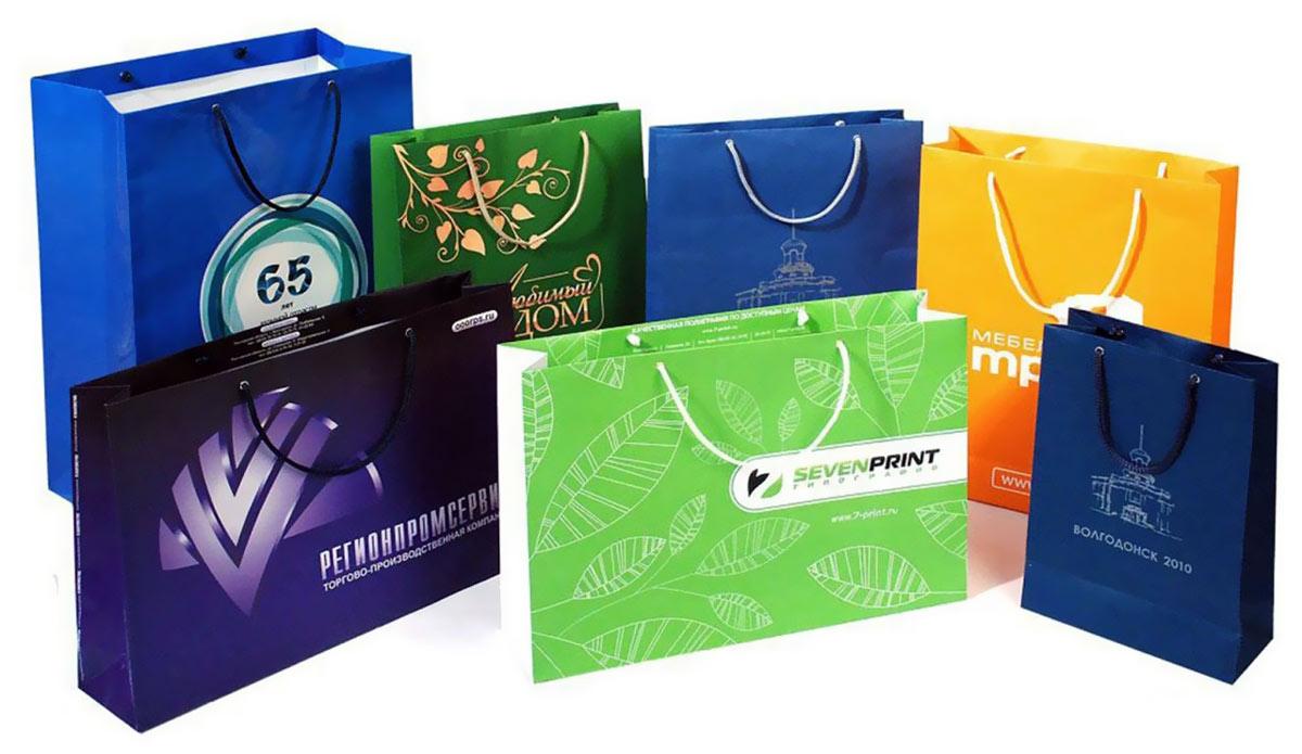 плюсы печати фирменных пакетов для компании