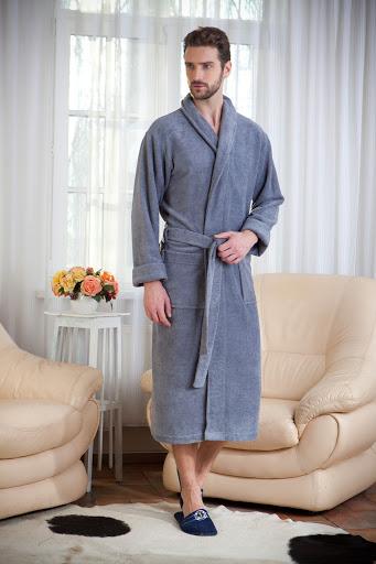 стильный мужской халат
