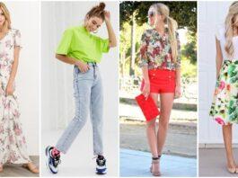 Женская мода весна – лето 2021