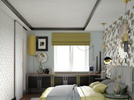 Интерьер и дизайн небольшой спальни