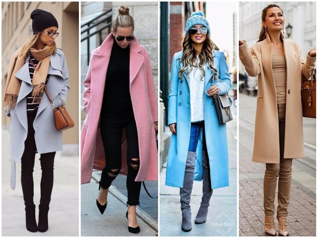Выбираем модное пальто: осень-зима