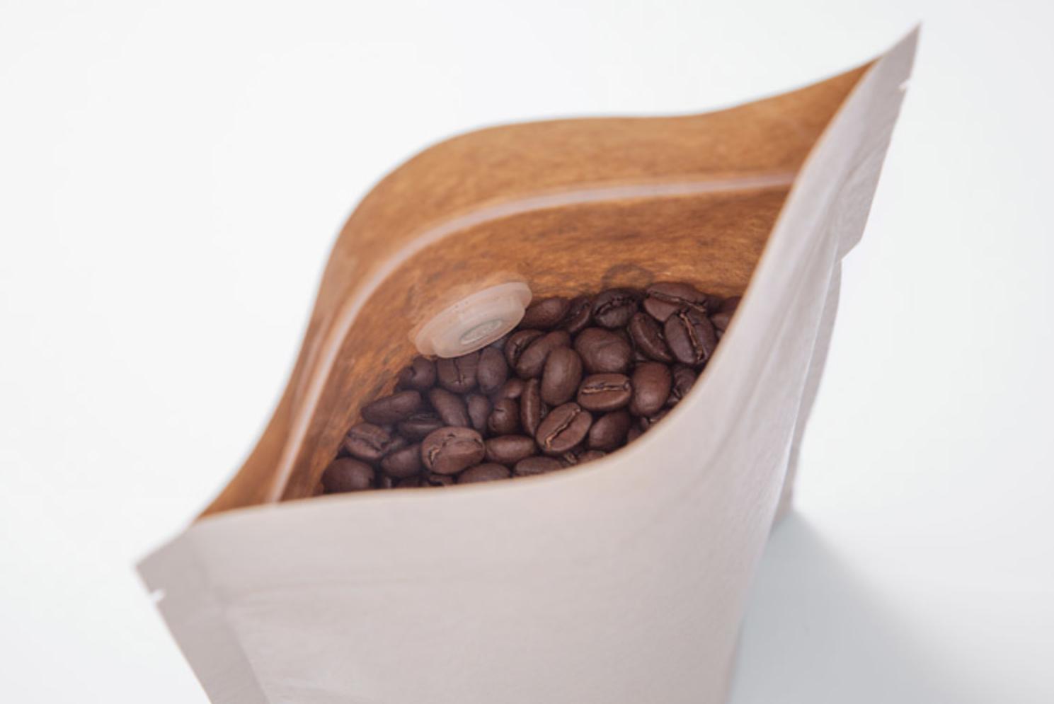 Зачем на упаковке для кофе клапан