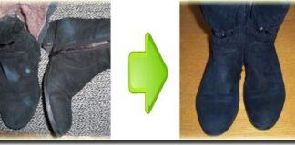 Как правильно покрасить замшевую обувь