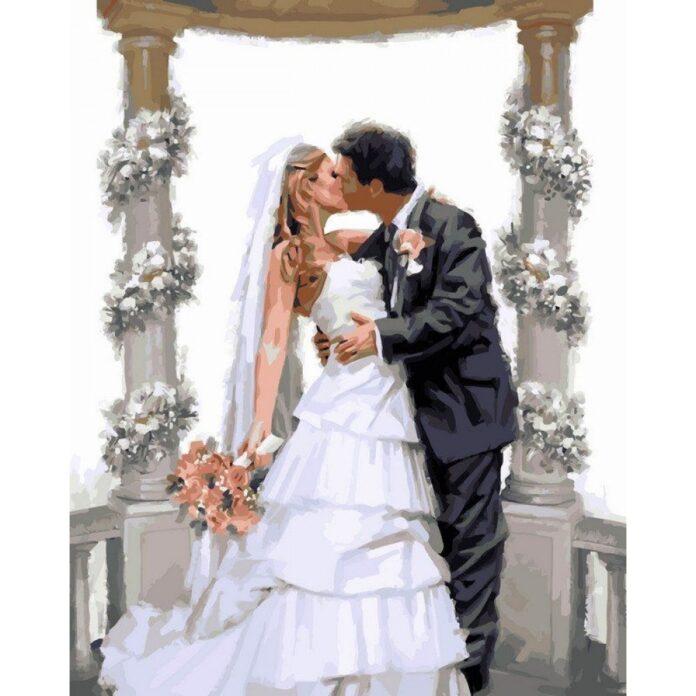 картины по номерам свадьба