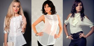 Шифоновые блузки: самые модные фасоны и расцветки